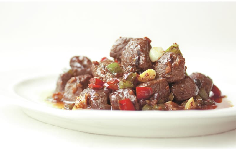 Beef with Black Bean Sauce